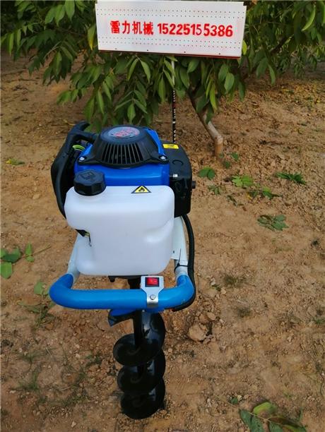 电力栽杆少不了栽树挖坑机