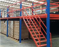 曲靖阁楼货架,4S店阁楼货架免费设计,免费送货安装