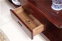 岳阳木言木语 新中式实木视听柜  客厅组合实木地柜