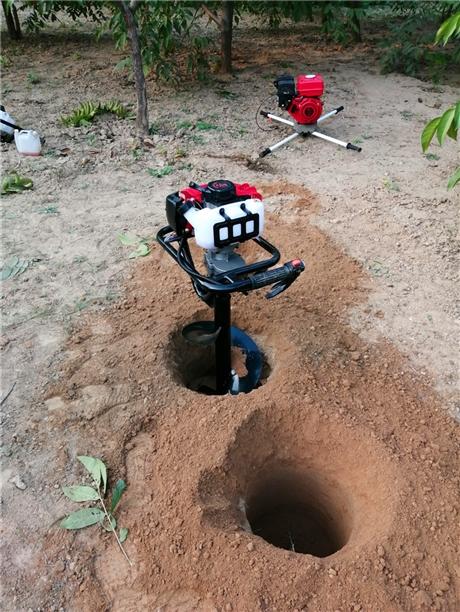 种树钻坑机栽植苗木挖孔巨大需求