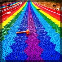 什么是彩虹滑道 彩虹滑道簡介 七彩彩虹滑道詳細介紹