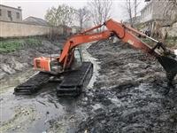 随州水陆两用挖掘机出租费用