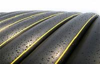 濟甯地埋PE燃氣管應用在奧德燃氣