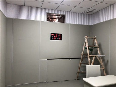 纪委留置室软包建设SIW防撞墙系统