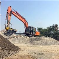 挖掘机移动破碎斗 液压粉碎斗价格 破碎铲斗厂家一站式服务