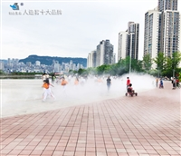安全降温景观雾安装