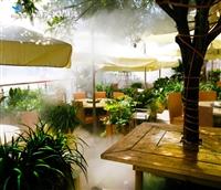 安全降温景观雾方案