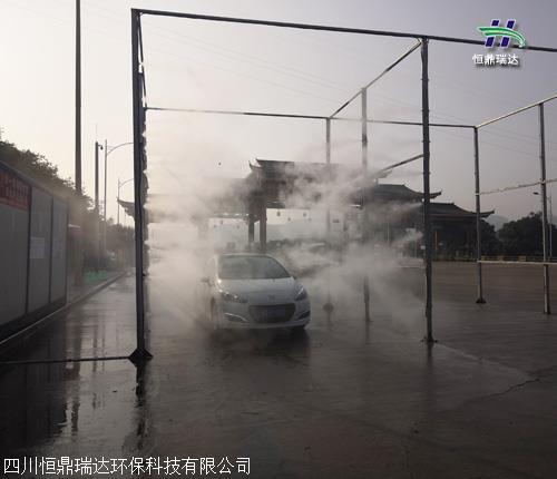 泸州市环保 消毒通道 施工