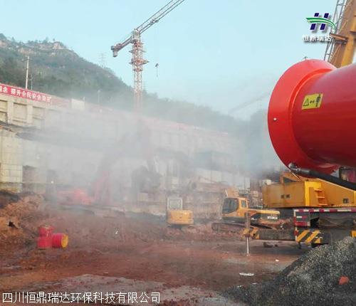 广安市安全 高压喷雾降尘 供应