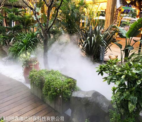 重庆高压人造雾景观设备厂家 恒鼎雾森