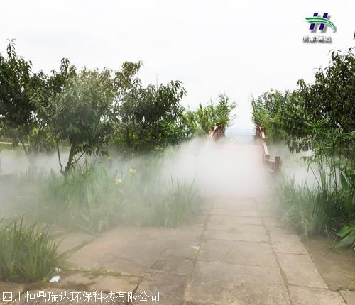 资阳市高压高压喷雾景观 安装