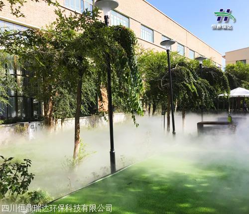 广安市水雾造雾设备施工