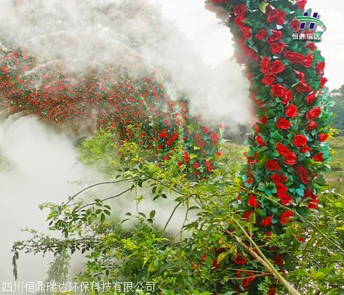 南充市高压造雾设备 施工