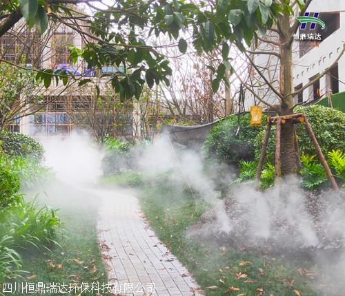 火锅店 景观雾化装置