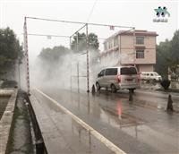 大型机械喷雾消毒设备  恒鼎人造雾设备