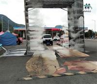 甘孜州细水雾消毒通道施工