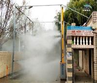 高压雾森喷雾消毒设备厂家