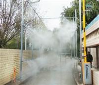 畜牧场消毒喷雾装置 雾森喷雾代理加盟