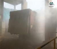 大型机械人造雾降尘设备 雾森
