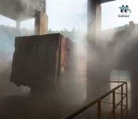 沧州砂石厂 除尘雾喷机设备厂家 热博官网app热博官网app设备