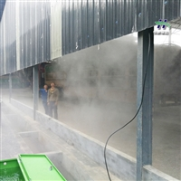 资阳市景观雾工业喷雾系统方案