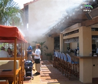 甘孜州户外大型降温喷雾生产到售后一体化厂家