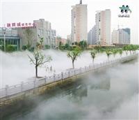 假山景观造雾人造喷雾