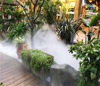 名胜古迹 人造大雾水景装置