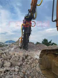 广西钻科挖改钻机 挖机改装潜孔钻液压钻机 适用矿山开采、石方爆
