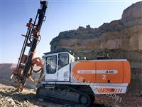 志高掘进厂家一体潜孔钻车D440绿色矿山石场开山爆破