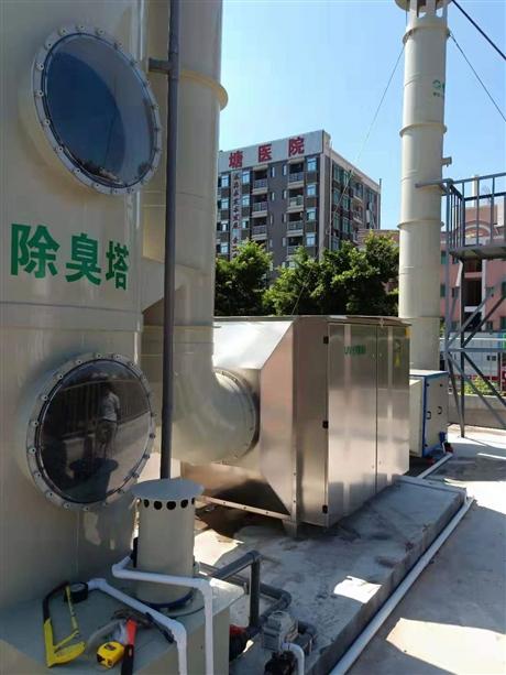 垃圾转运站除臭设备深圳厂家
