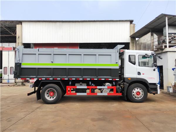 粪污运输车 容积10立方牛粪鸡粪猪粪运输车报价
