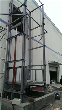 宁国市导轨式货梯 液压提升机厂家