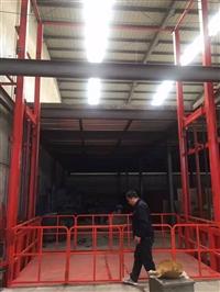 宁国工厂货梯 液压载货平台 二三层导轨货梯 厂家