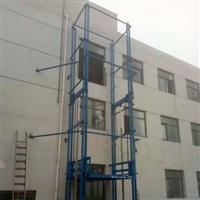 淮南导轨式货梯 小型货梯 双缸在这等环境下双轨式导轨货梯  定制