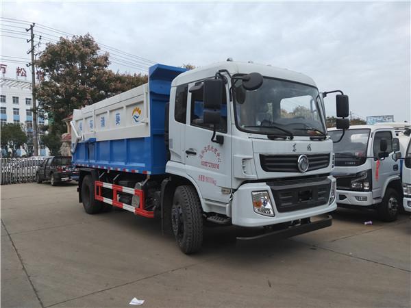 收运粪便能拉10吨干粪污粪运输车