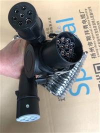 SC abs传感器延长线-2芯5芯7芯挂车线束-挂车电源线