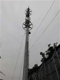 施工 水泥廠灰庫清理 角鋼鐵塔防腐 通信鐵塔搬遷