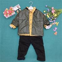 豆豆醬潮牌服裝批發 內蒙古批發冬款童裝 給女兒的店童裝外套批發