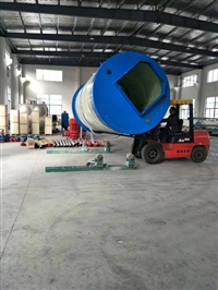 白山臨江GRP玻璃鋼一體化泵站包安裝寶驗收