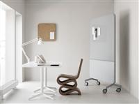 支架式白板 可移動磁鐵會議室白板寫字板吸音磁力白板