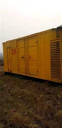 白山出租静音发电机,600kw发电机出租24小时服务