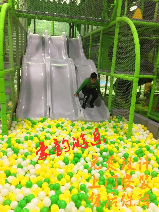 室内百万球池厂家  百万球池滑梯价格 海洋球质量