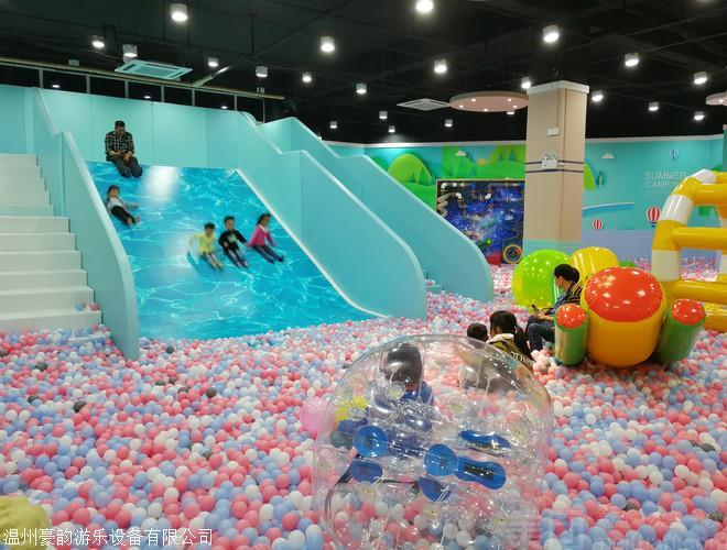 室内百万球池生产厂家  500平方大型百万球池价位