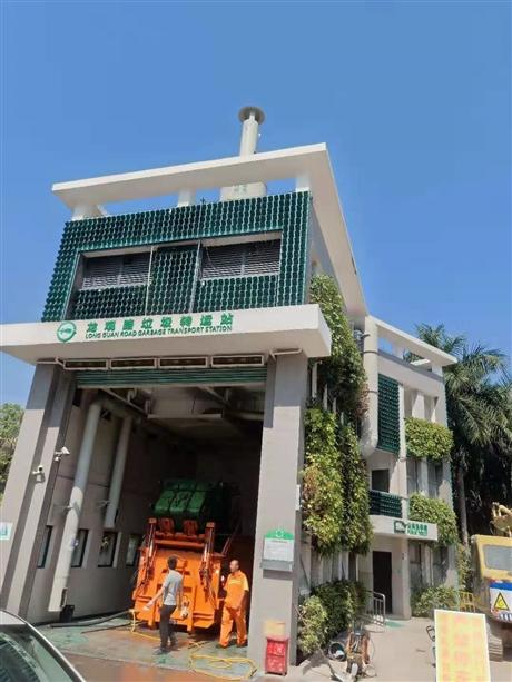 深圳市垃圾中转站除臭设备厂家