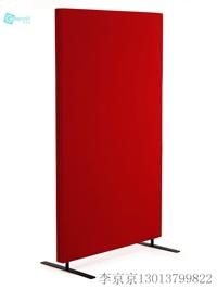 聚酯纖維吸音板落地桌屏 可插圖釘 包布屏風 吸聲屏風