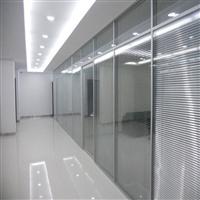玻璃隔断墙 90款高隔断屏风 铝合金双玻隔断隔音屏风