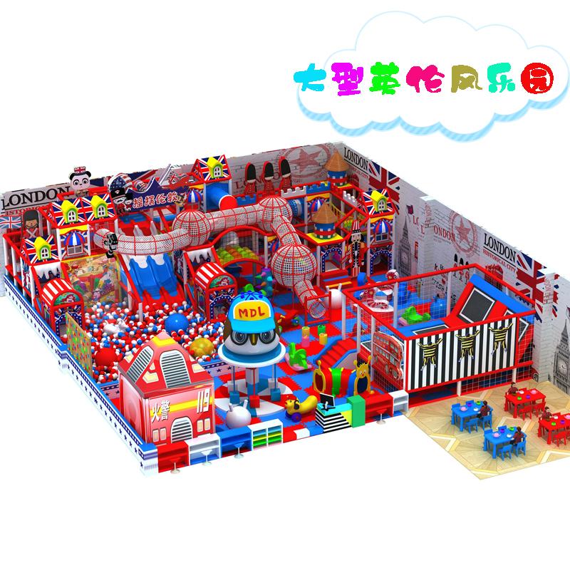 室内商场儿童游乐场 百万海洋球池滑梯厂家