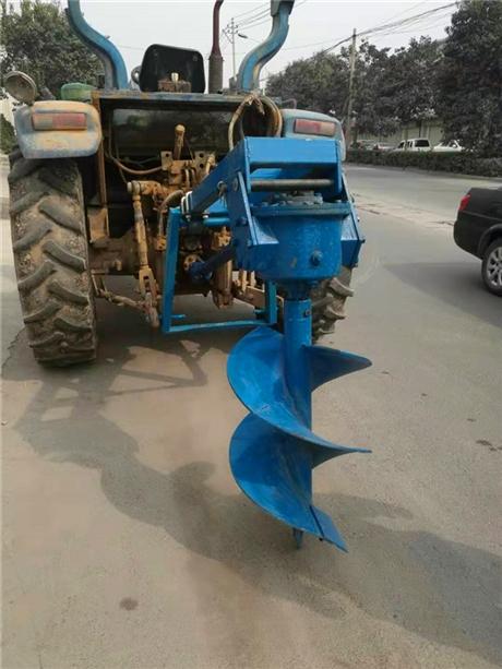 拖拉机挖坑机种植常用