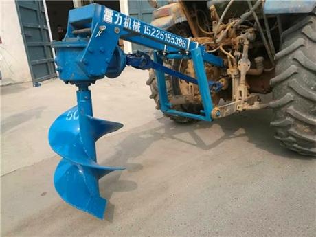 拖拉机挖坑机软硬土能挖能钻